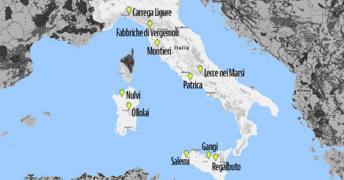 Houses for sale for 1 euro: a map of the abandoned villages in