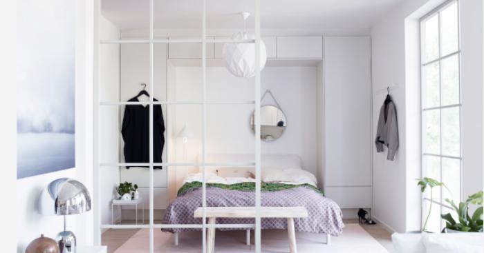 Ein kleines Schlafzimmer einrichten, damit es geräumiger erscheint ...