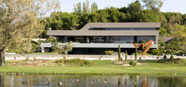 La villa che incant cristiano ronaldo a madrid foto - Casa de cr7 en madrid ...