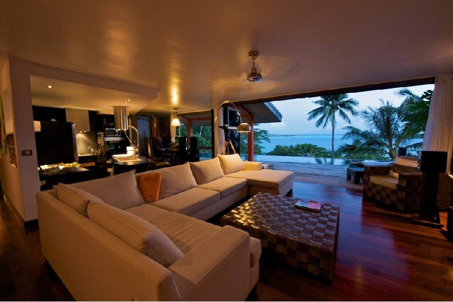 Case da sogno villa faaopore nell 39 isola di bora bora for Piani di casa da sogno