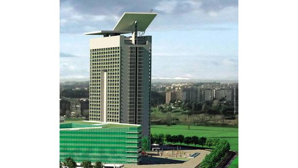 Arriva il grattacielo di roma 28 piani di nuovi for Piani di costruzione di appartamenti a 3 piani