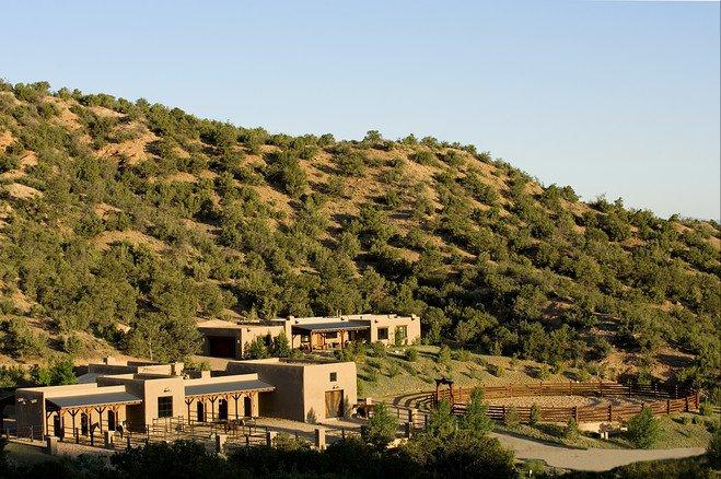 Case da sogno un ranch di lusso tra i boschi del nuovo for Case di ranch single story