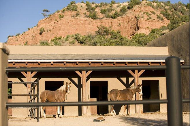Case da sogno un ranch di lusso tra i boschi del nuovo for Piani di lusso casa ranch