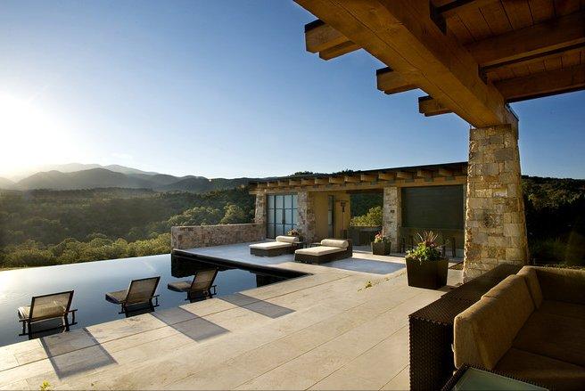 Case da sogno un ranch di lusso tra i boschi del nuovo for Case di un ranch di storia