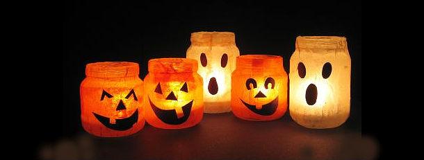 le case fantasma di halloween