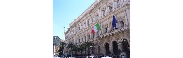 la banca d'italia, via nazionale. roma