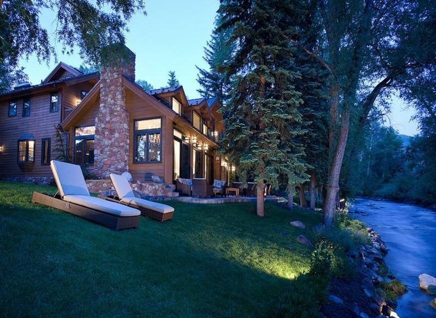 Case da sogno in poltrona nei boschi in riva al fiume for Piani casa montagna colorado