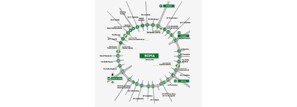 il raccordo anulare di roma