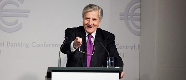 il presidente della bce trichet