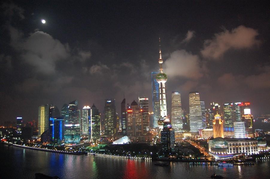 una vista di shangai foto: stefano vilei cc