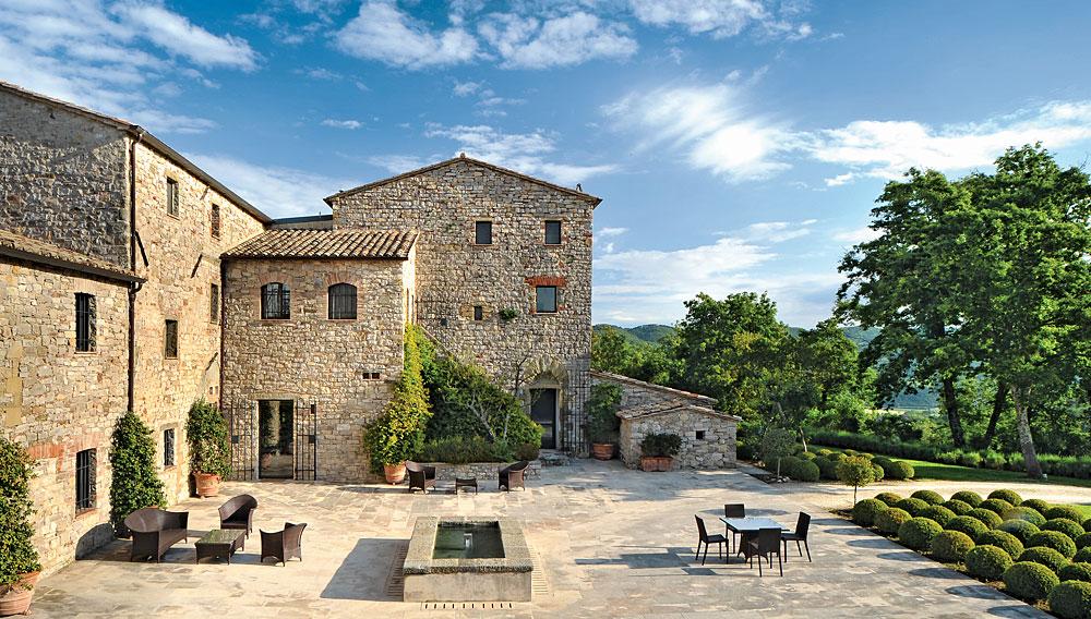 villa arrighi in umbria