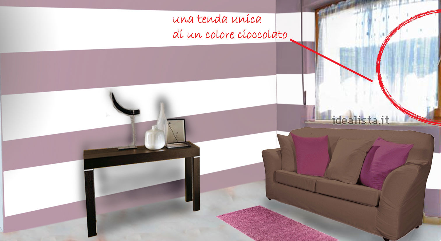 Color Lavanda Per Pareti : Home staging: casa piccola ma con carattere galleria u2014 idealista news