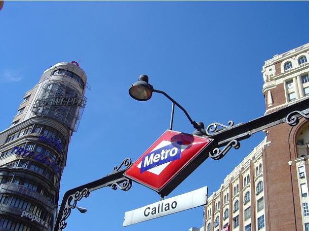 un'immagine della metro a madrid