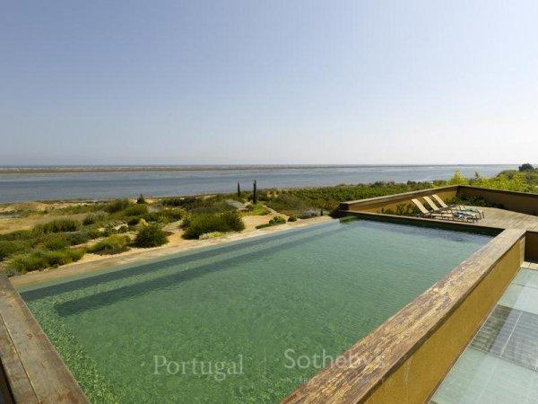 casa da sogno: nel parco nazionale dell'algarve con vista sul mare