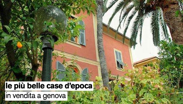 Le pi belle case d 39 epoca in vendita a genova e provincia for Case d epoca
