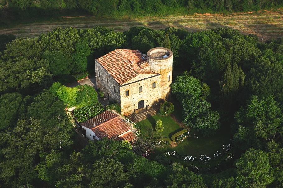 castello medievale toscana
