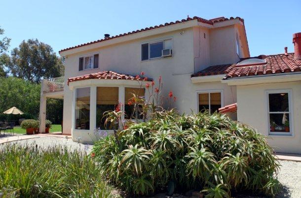 una villa in california