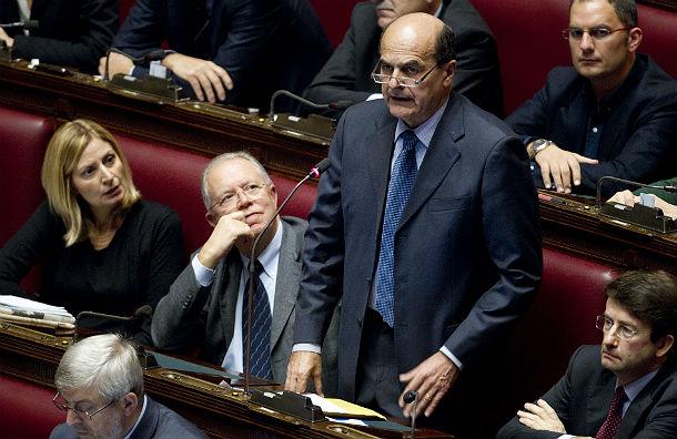 bersani propone la patrimoniale