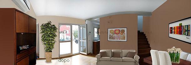 come valorizzare una casa su due piani fotogallery