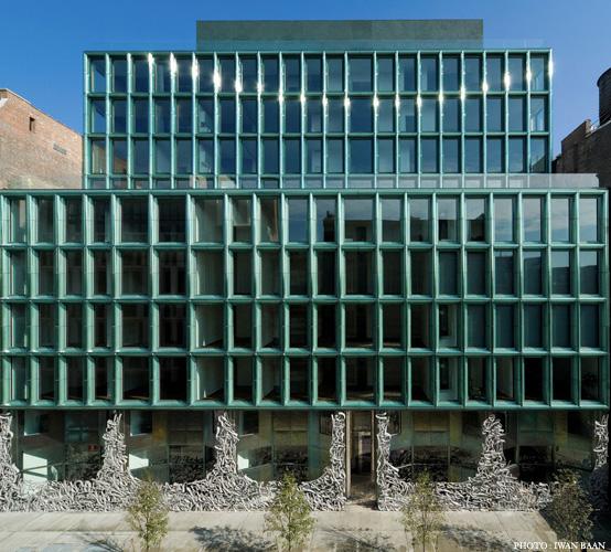 I migliori progetti di architettura contemporanea a new for New york architettura contemporanea