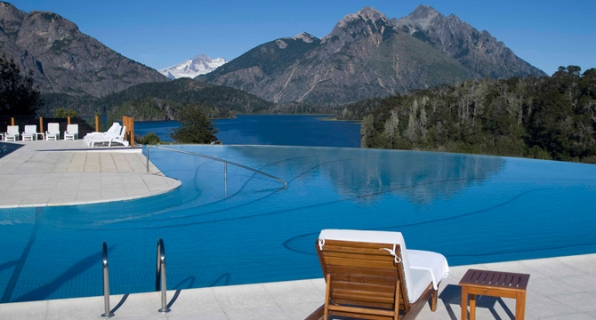 llao llao hotel, patagonia