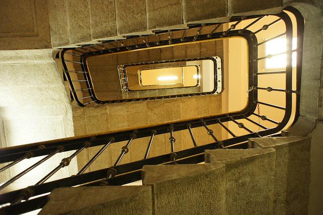 interno di un edificio dell'enel. foto: badswan (flickr.com cc)