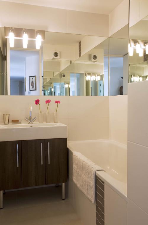 Come decorare un bagno di piccole dimensioni fotogallery idealista news - Dimensioni di un bagno ...