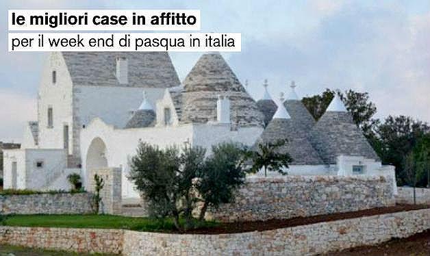 Le migliori case in affitto per pasqua in italia spagna e for Le migliori case costruite