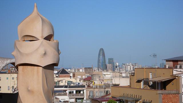 una veduta di barcellona. foto: cebete (flickr.com cc)