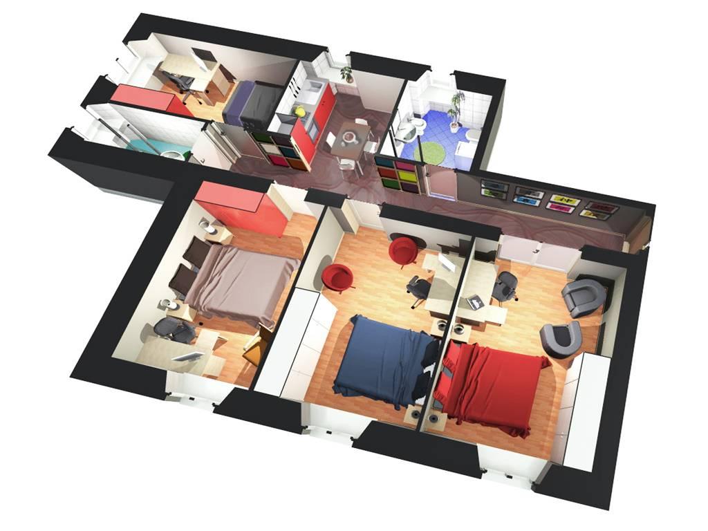 20 idee per arredare un appartamento per studenti for Arredamento entrata appartamento