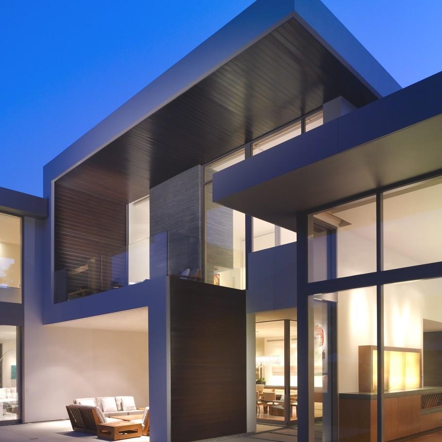 Case da sogno solida eleganza sulle colline della for Architetti famosi moderni
