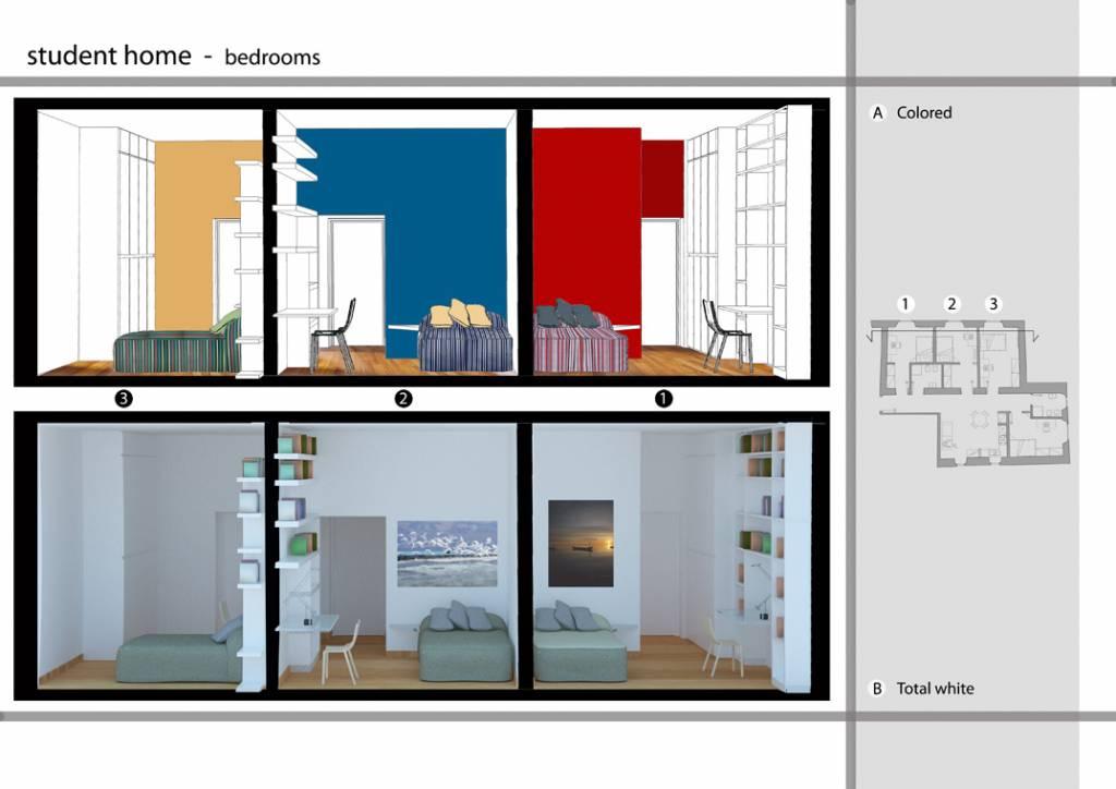 20 idee per arredare un appartamento per studenti for Programma per arredare la casa