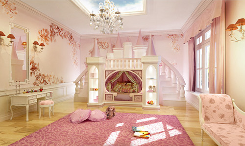7 Inspiring Kid Room Color Options For Your Little Ones: 10 Modi Eccentrici Di Decorare Le Stanze Delle Principesse