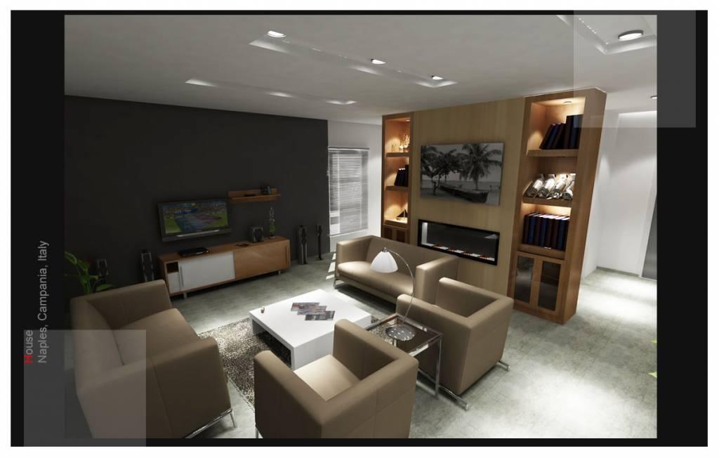 Progetto casa interni idee arredamento casa architetto d for Progetto casa interni