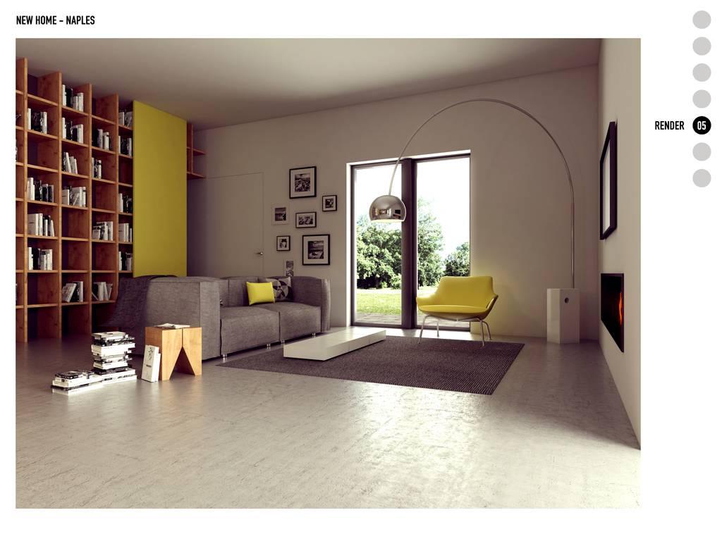 Interni case moderne con camino - Idee case moderne ...