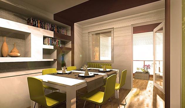 7 idee per rinnovare un monolocale spendendo poco for Rinnovare casa idee