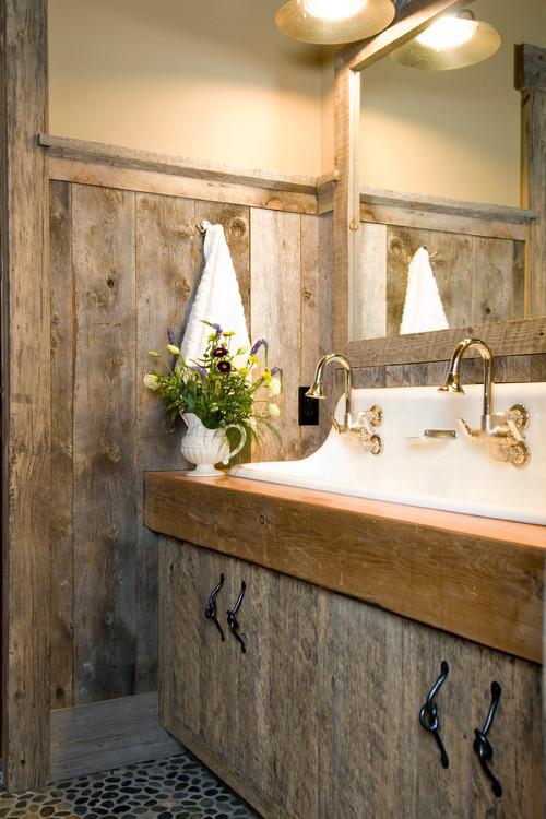 ecco alcuni esempi di bagni rustici di piccole dimensioni
