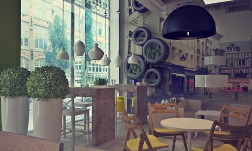 Idee Per Rinnovare L Ufficio : Come trasformare un vecchio locale nel lounge bar più figo della tua