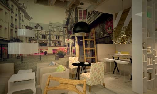 Idee Per Interni Bar : Come trasformare un vecchio locale nel lounge bar più figo della