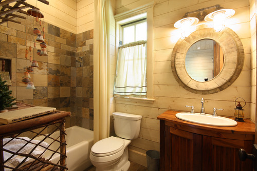 traditional bathroom by hiawassee general contractors timberlake custom homes inc