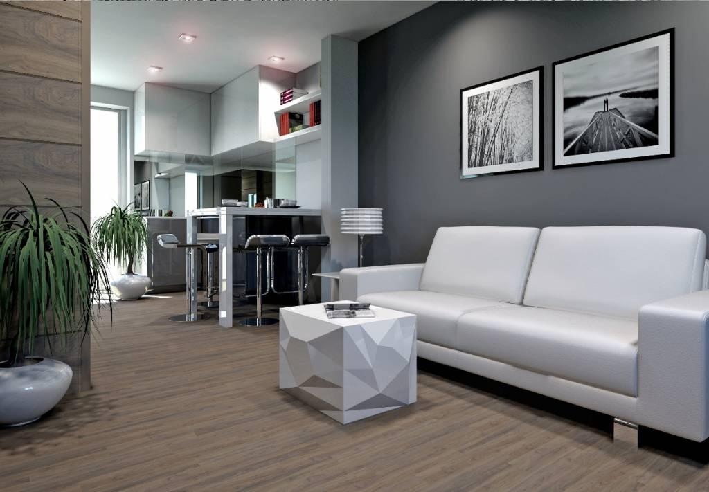 8 idee per ristrutturare a basso costo un appartamento in for Decoracion de interiores en tonos grises
