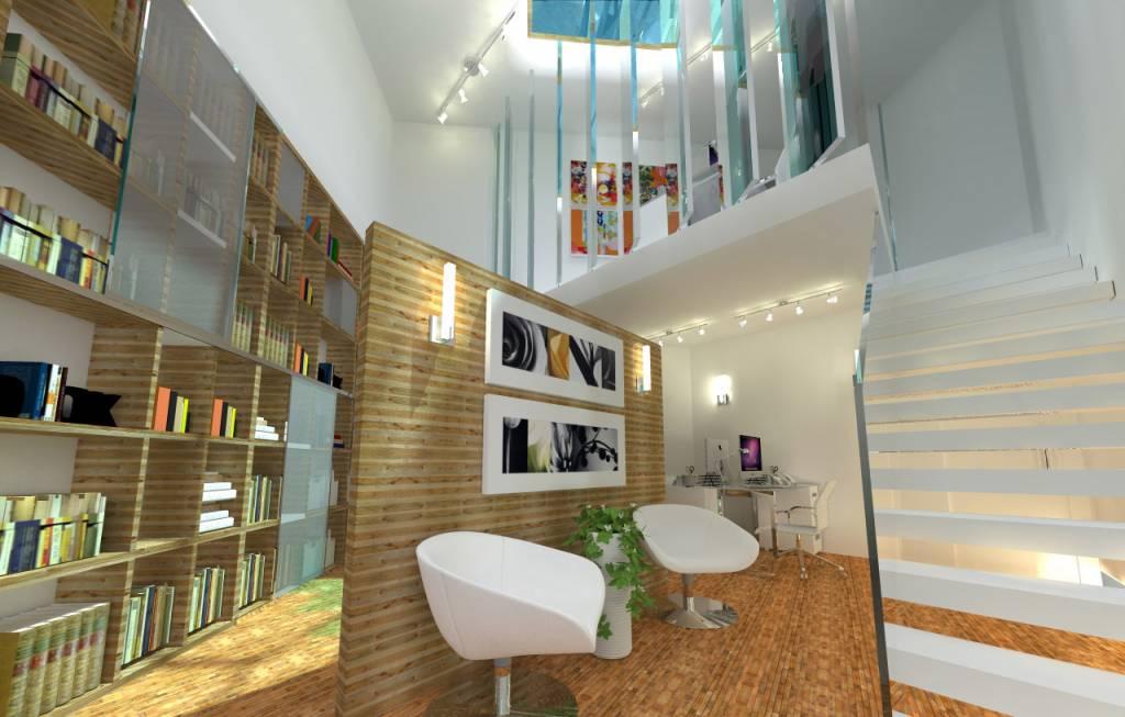 Piccolo Ufficio Moderno : 16 idee di design ai limiti: come far stare comodamente 6 persone in