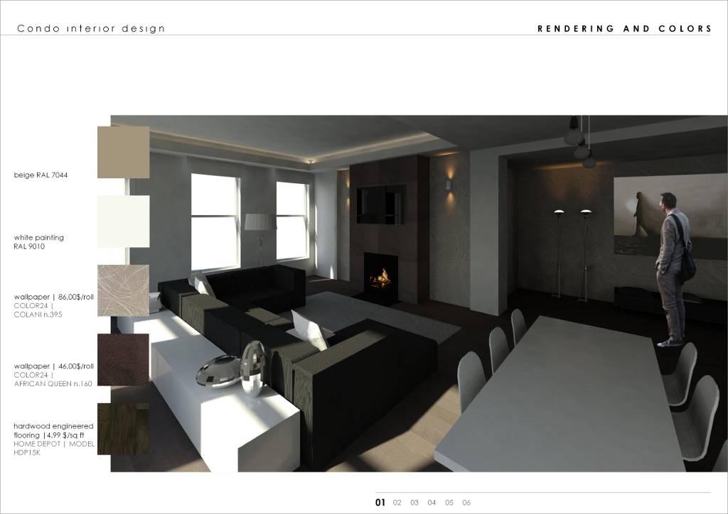 come rinnovare un appartamento con un piccolo budget (fotogallery ... - Soggiorno Cucina Open Space 30 Mq