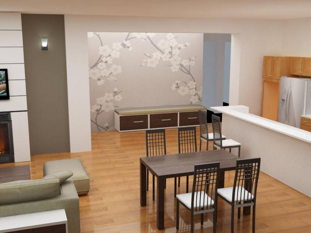 Come rinnovare un appartamento con un piccolo budget - Idee per il soggiorno ...