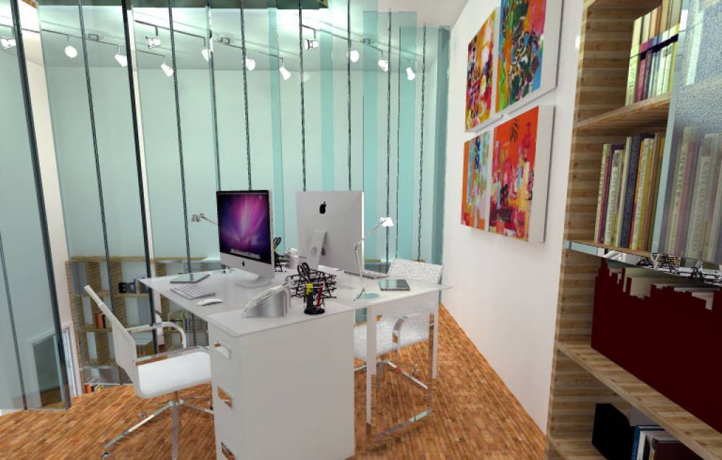 Metri Quadri Ufficio Persona : 16 idee di design ai limiti: come far stare comodamente 6 persone in