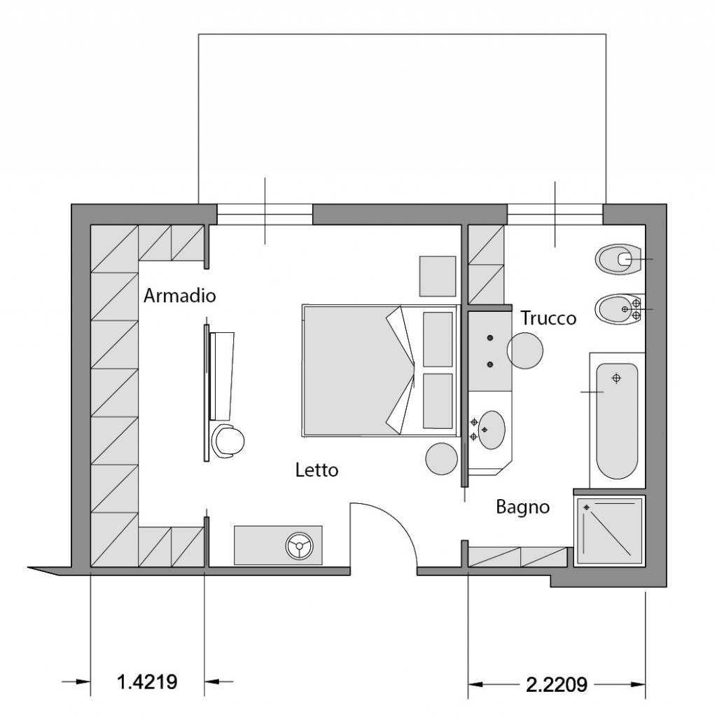 Progetta la tua camera arredaclick blog il progetto di - Ikea progetto camera ...