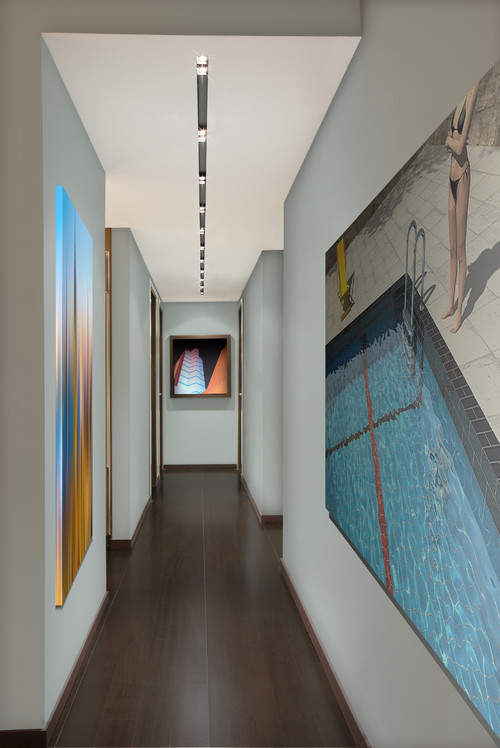 9 idee per decorare un corridoio stretto fotogallery - Sognare scale mobili ...