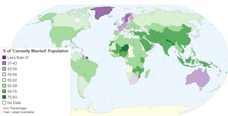 Matrimonio In Europa : Immagine del giorno la decadenza matrimonio in europa