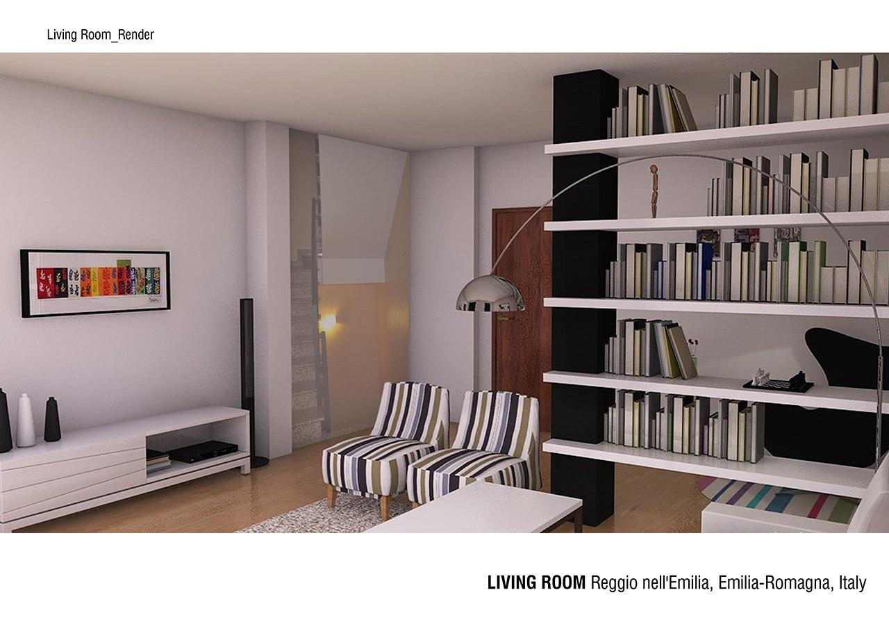 come arredare un living. piccolo salotto di design with come ... - Come Arredare Un Soggiorno Stretto E Lungo