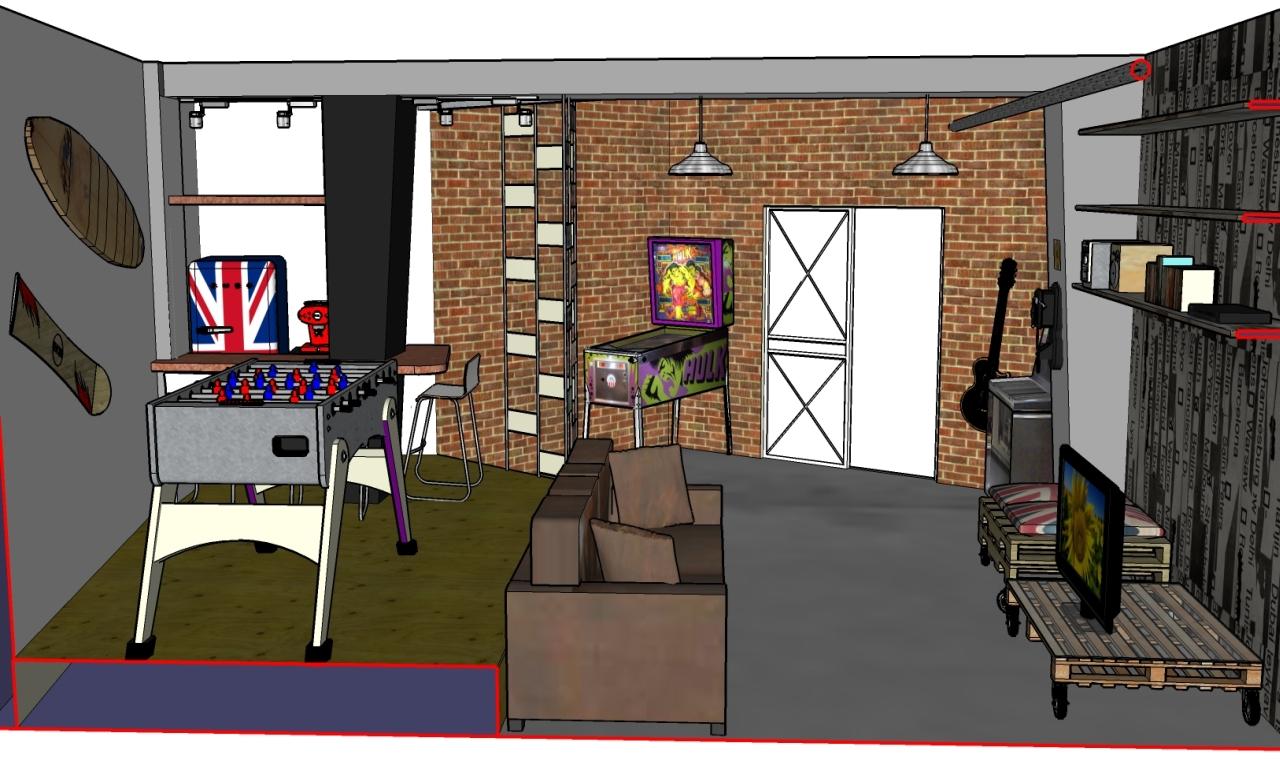 Idee Per Arredare Garage.13 Idee Per Trasformare Il Tuo Vecchio Garage In Una Divertente Zona